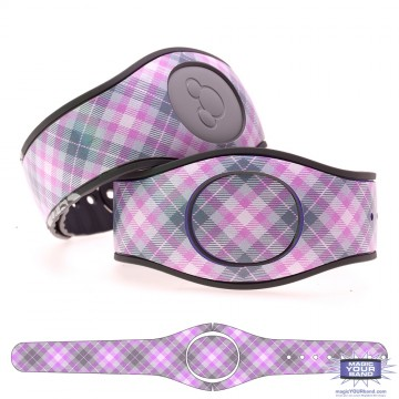 """Taffy"" Plaid MagicBand 2 Skin"