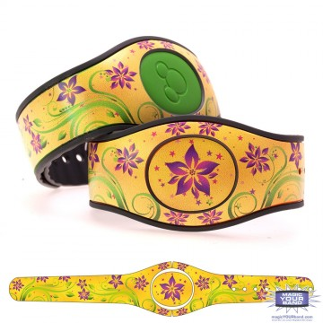 Spring Flowers Series 2 - Yellow Flowers MagicBand 2 Skin