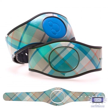 """Juniper"" Plaid MagicBand 2 Skin"