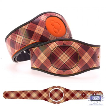 """Fig"" Plaid MagicBand 2 Skin"