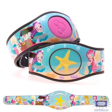 Little Mermaids MagicBand 2 Skin