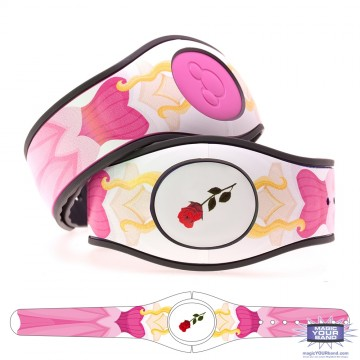 Fairytale Princess in Pink (Character) MagicBand 2 Skin
