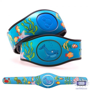 Sea Animals MagicBand 2 Skin