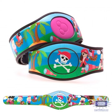 Pirate Girl MagicBand 2 Skin