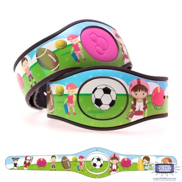 Sports (Girls) MagicBand 2 Skin