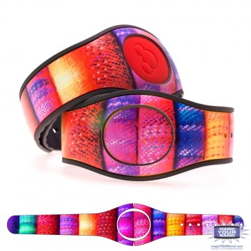 Colored Linen MagicBand 2 Skin