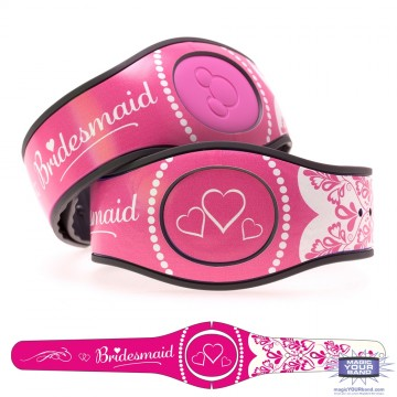 Bridesmaid in Pink MagicBand 2 Skin