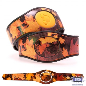 Fall Leaves MagicBand 2 Skin