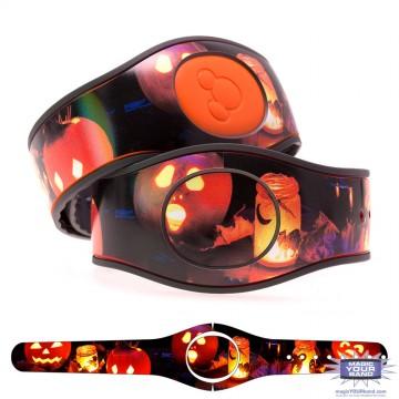 Jack-o'-Lantern MagicBand 2 Skin