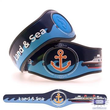 Land and Sea MagicBand 2 Skin