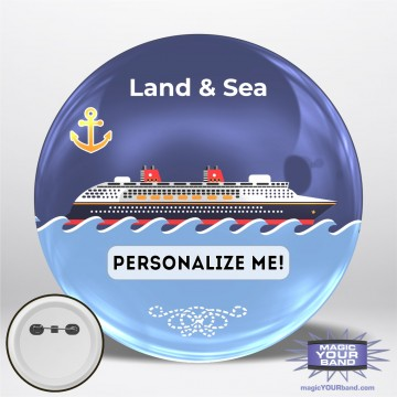 Land and Sea Personalizable Park Button
