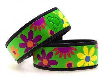 Flower Power MagicBand Skin (MagicBands)