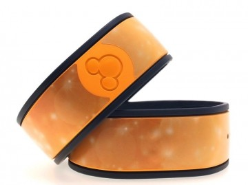 Golden Bubbles MagicBand Skin