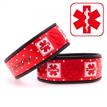Personalized Medical Alert MagicBand Skin