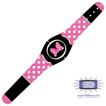 Mrs Mouse (Pink) MagicBand 2 Skin