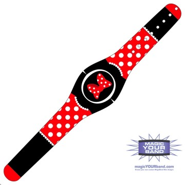 Mrs Mouse (Red) MagicBand 2 Skin