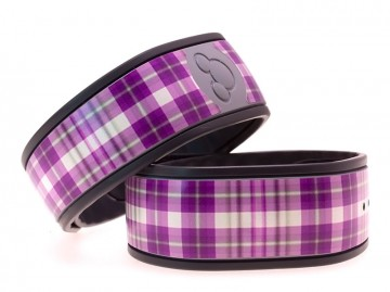 """Loganberry"" Plaid MagicBand Skin"