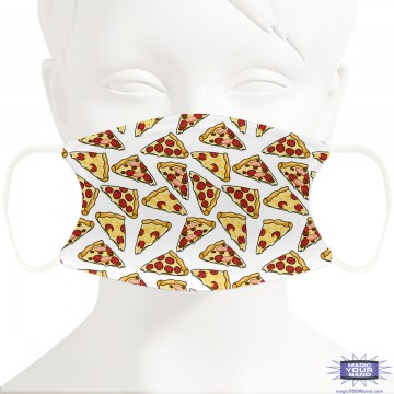 Pizza Face Mask - Personalizable