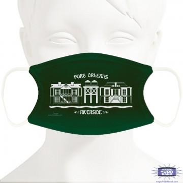 Port Orleans Resort Inspired Design Face Mask - Personalized
