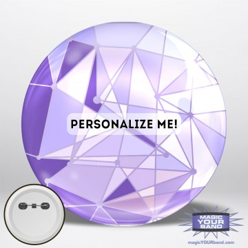 Purple Wall Button