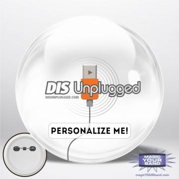 Retro DIS Unplugged Personalizable Park Button