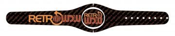 RetroWDW (Black) MagicBand 2 Skin