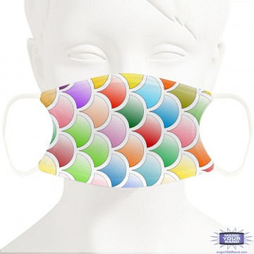 Scales Face Mask - Personalizable