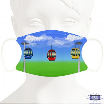 Skyliner Design Face Mask - Personalized