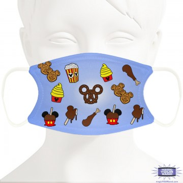 Park Snacks Face Mask - Personalized