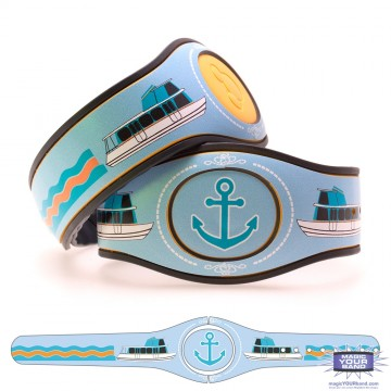 Transportation Series - Seven Seas Cruiser MagicBand 2 Skin