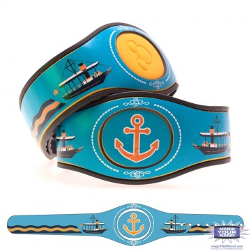 Transportation Series - Seven Seas Launch MagicBand 2 Skin