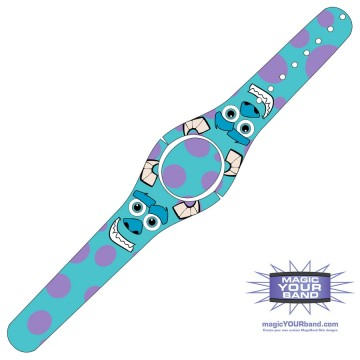 Furry Monster MagicBand 2 Skin