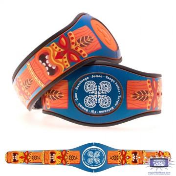 Tiki God (Orange) MagicBand 2 Skin