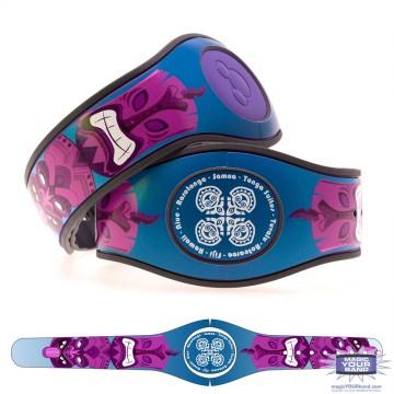 Tiki God (Purple) MagicBand 2 Skin