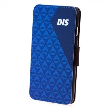 DIS Exclusive personalized iPhone 6 Leather/Canvas Flip Case