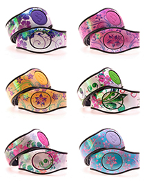 Spring Flowers MagicBand 2 Skins